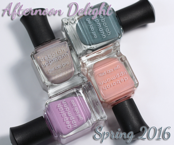 Deborah Lippmann Spring 2016 Afternoon Delight Swatches & Review