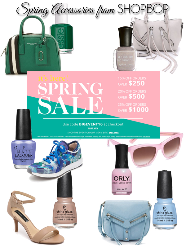 SHOPBOP Sale Picks - Spring 2016