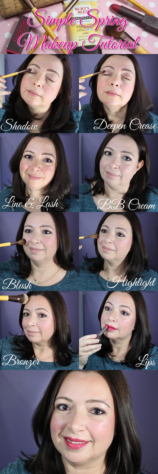 Burt's Bees® & EcoTools® Spring Makeup Tutorial