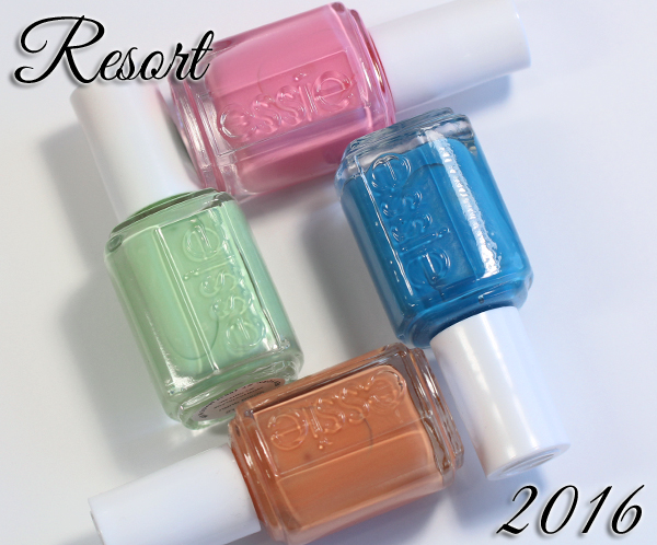 Essie Resort 2016 Collection Swatches, Review and Comparisons