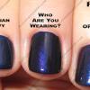 OPI Blue Comparisons
