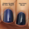 China Glaze Bahama Blues for Winter 2008