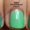 MAC Sugarsweet – Peppermint Patti & Seasonal Peach