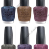 OPI Suede Collection Preview